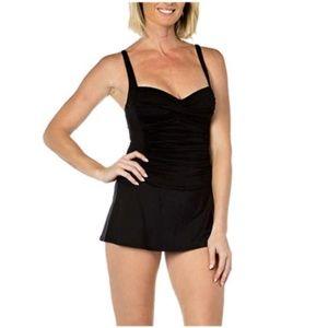 Rose Marie Reid Ladies' Swim Dress Skirted Bottom